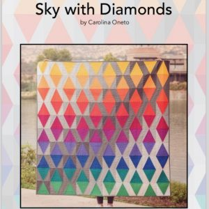 "Patron quilt ""Sky with diamond"""