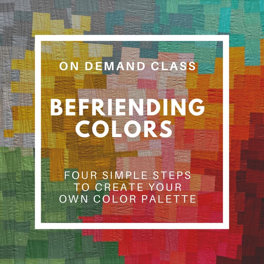 Befriending colors
